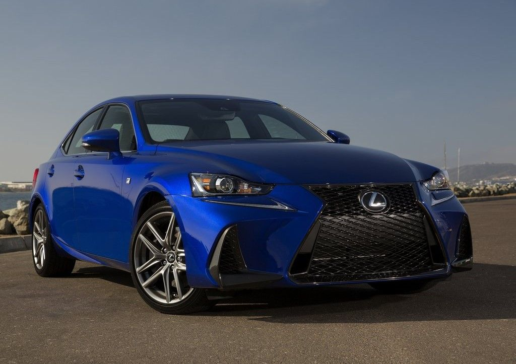 2019 Lexus IS 350 Angular Front View