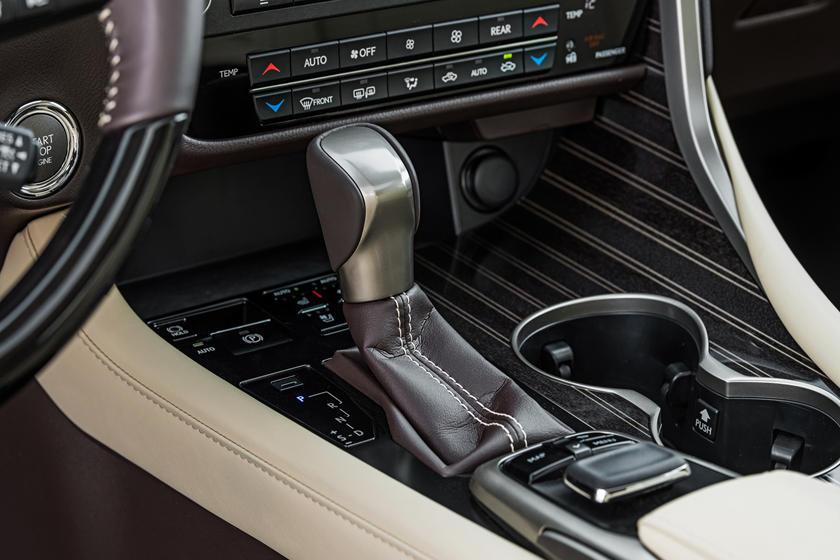 2020 Lexus RX 350 Center Console
