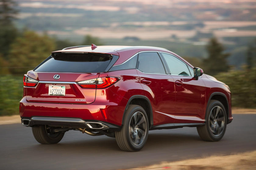 2020 Lexus RX 350 rear view