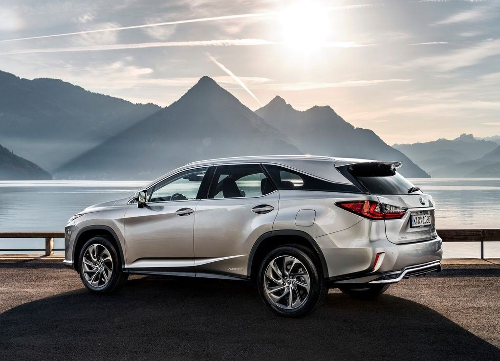 2020 Lexus RX 450hL Angular Rear View