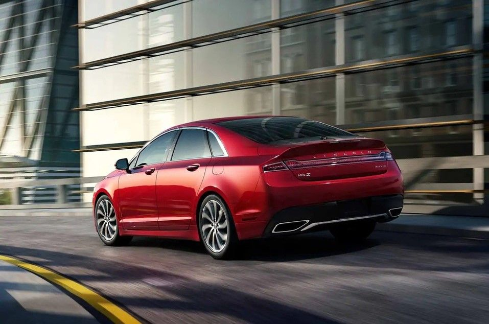 2020 Lincoln MKZ rear view