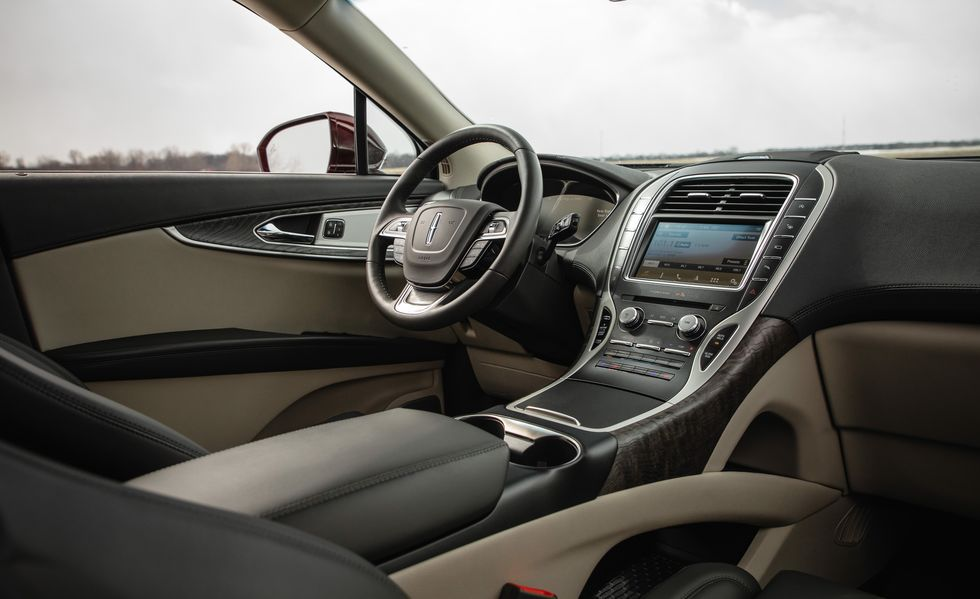 2020 Lincoln Nautilus Dashboard