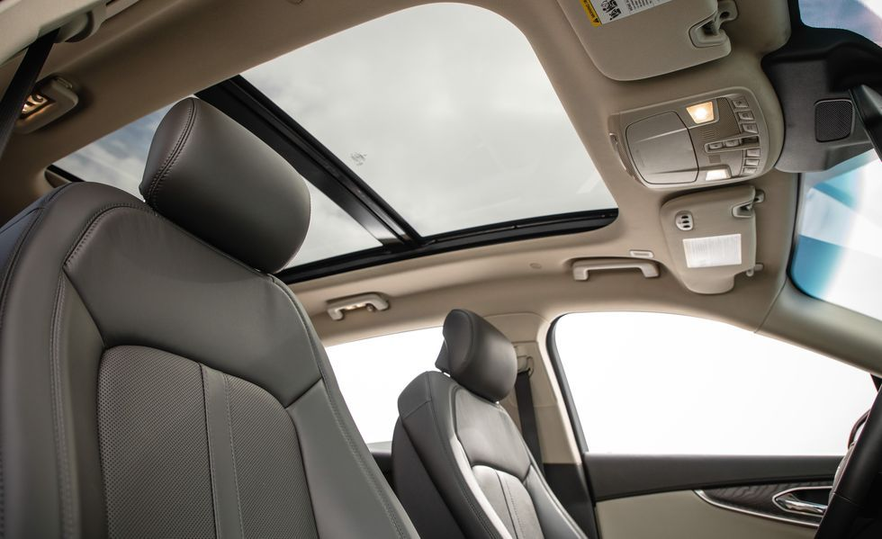 2020 Lincoln Nautilus Sunroof