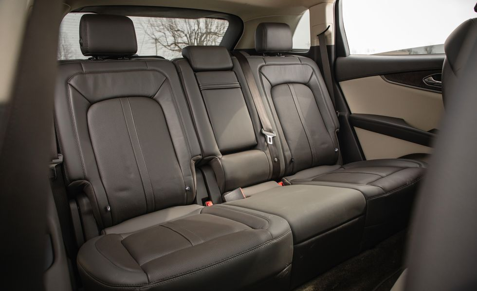 2020 Lincoln Nautilus Rear Seat