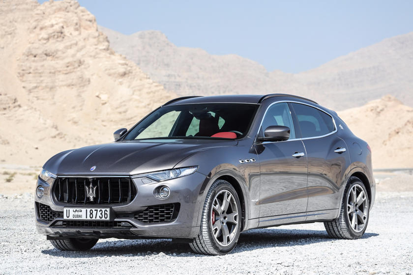 2019 Maserati Levante three quarter view