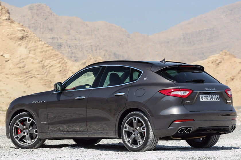 Maserati Levante rear three quarter