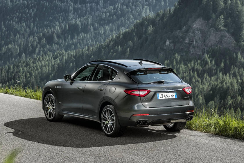 2020 Maserati Levante rear view