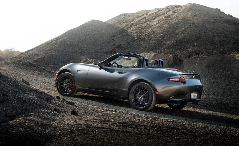 2019 Mazda MX-5 Miata Angular Rear View