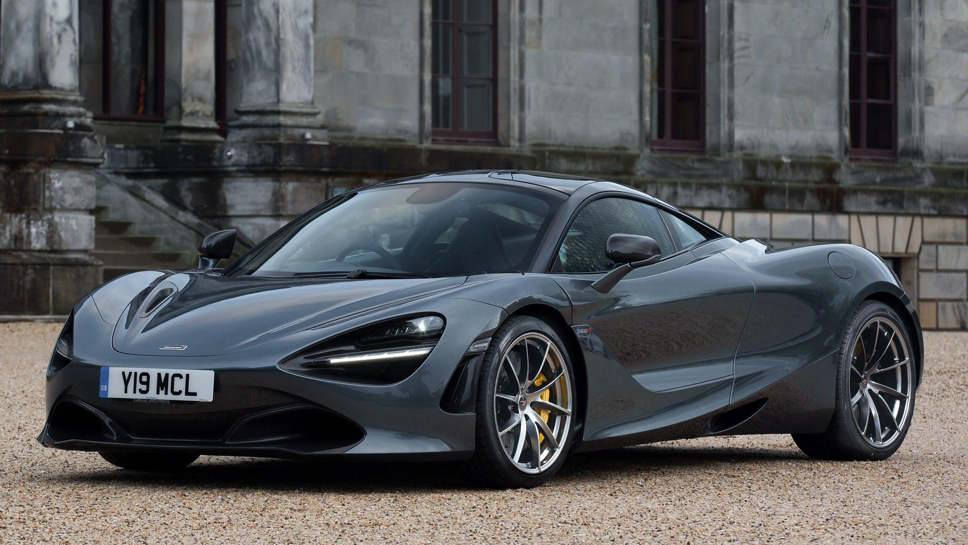 2020 Mclaren 720s coupe Front Three-quarter View