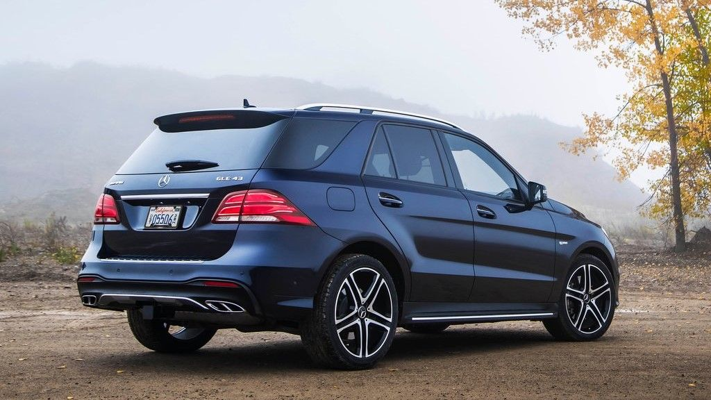 2019 Mercedes Benz GLE 43 AMG rear view