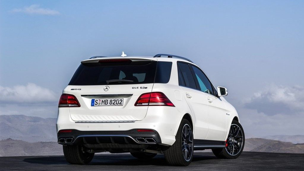 2020 Mercedes Benz GLE 63 AMG rear view