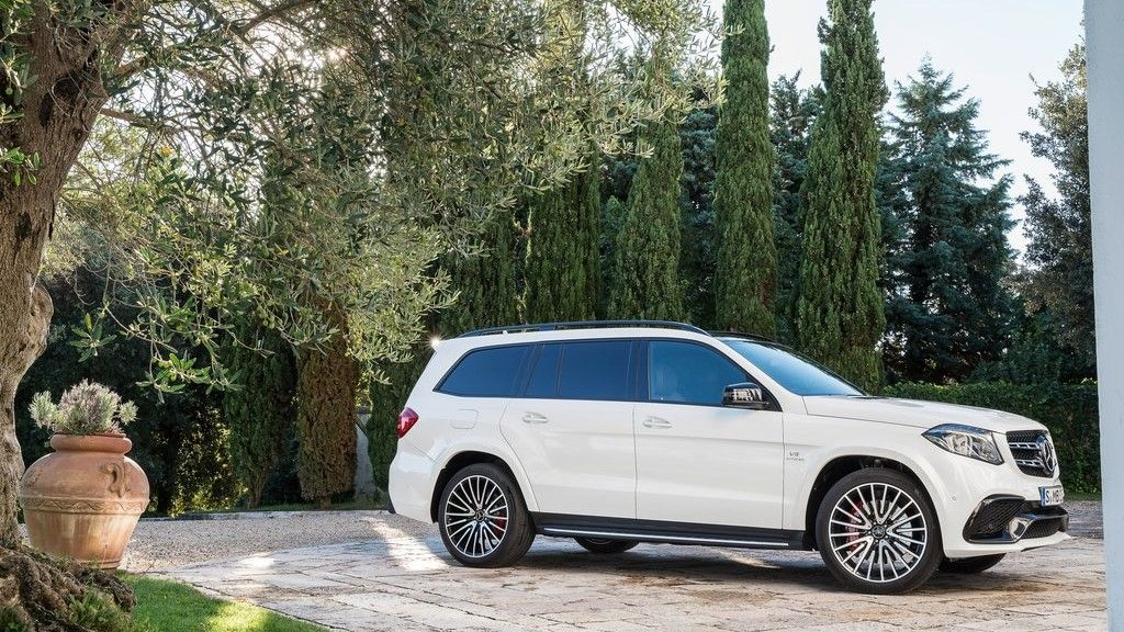 2019 Mercedes Benz GLS 63 AMG front view
