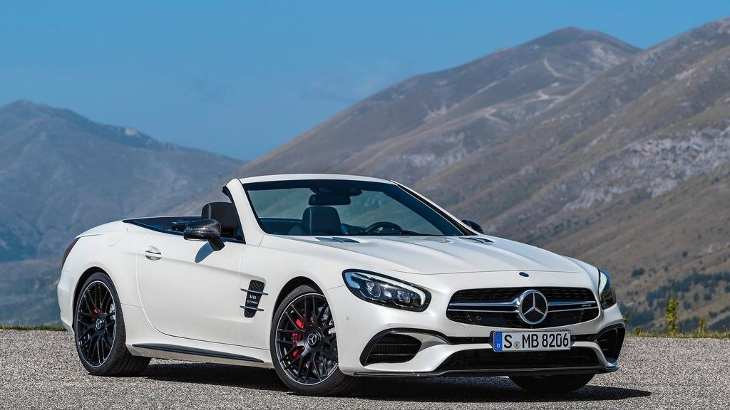 2019 Mercedes Benz SL 63 AMG front view