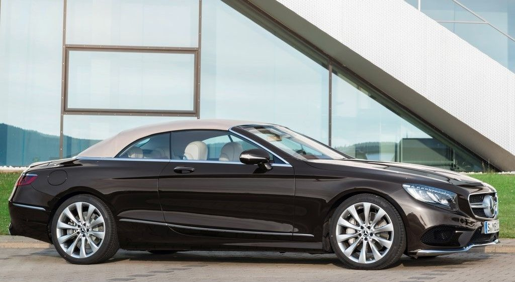2019 Mercedes Benz S Class Cabriolet front view