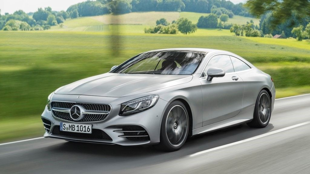 2019 Mercedes Benz S Class coupe front view
