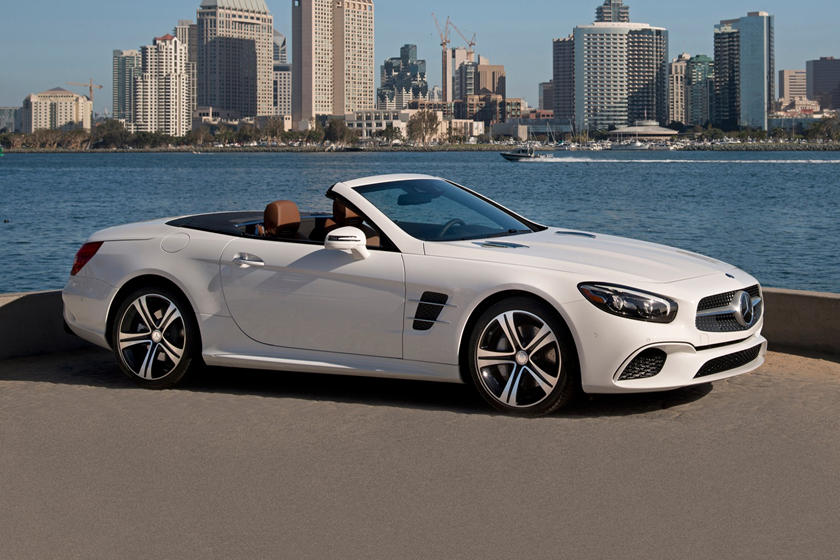2020 Mercedes Benz SL Class three quarter view