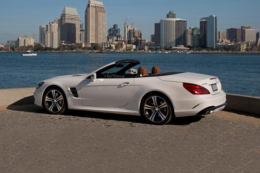 2020 Mercedes Benz SL Class rear view