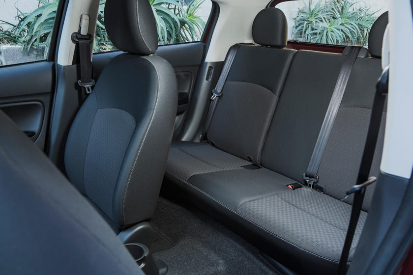 200 Mitsubishi Mirage rear seat