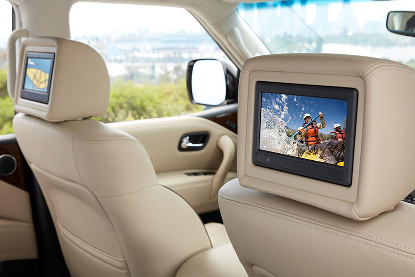 2019 Nissan Armada Entertainment Display