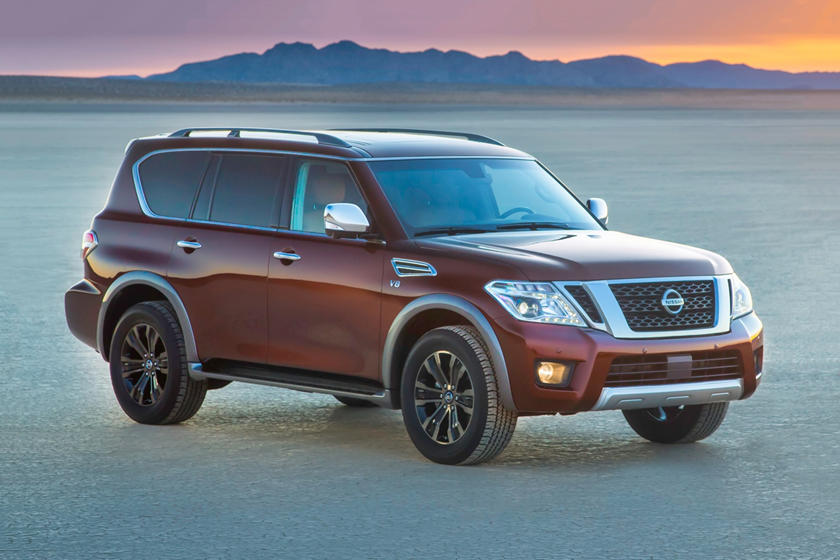 2019 Nissan Armada three quarter view