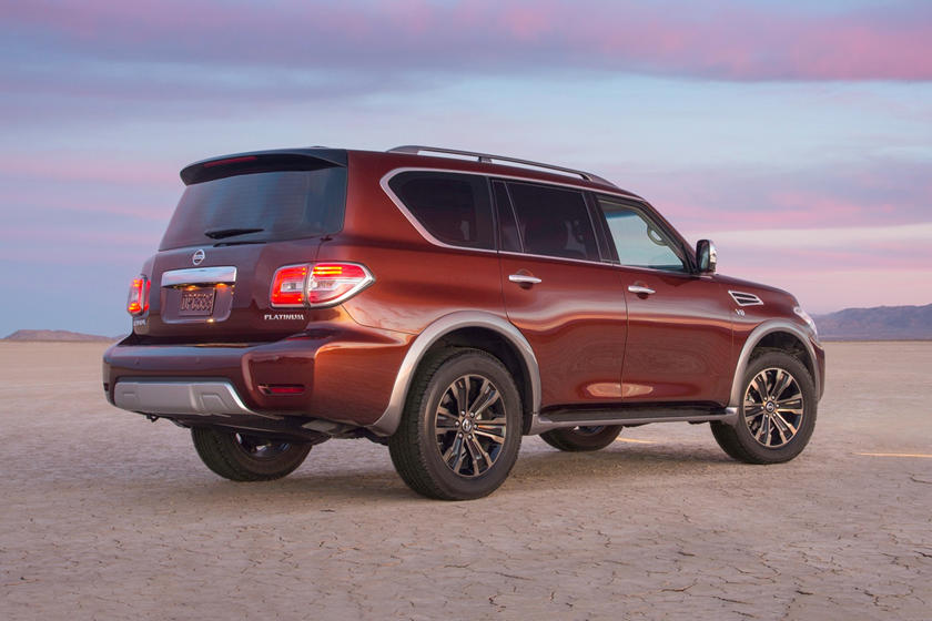 2019 Nissan Armada Rear View