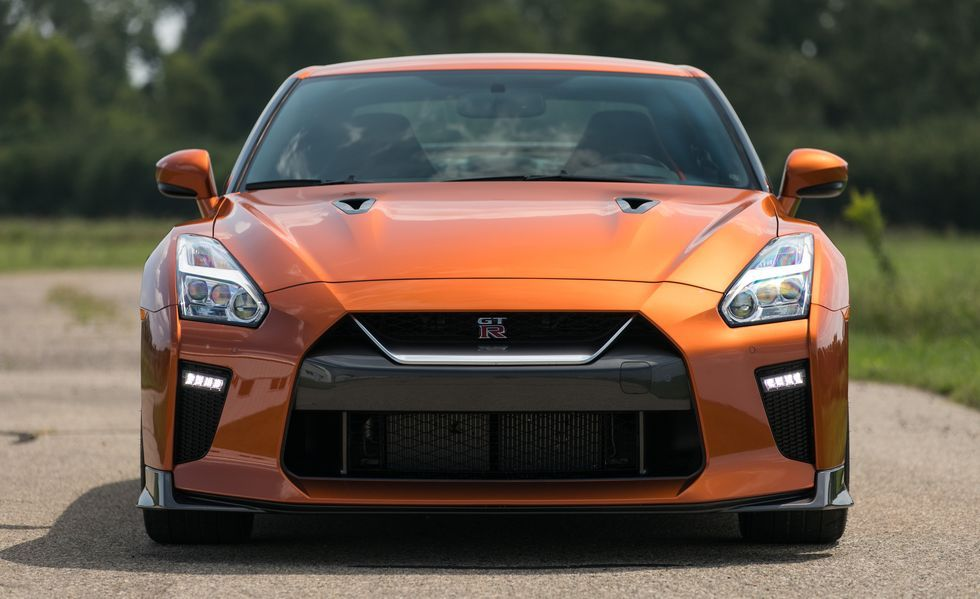 2020 Nissan GT-R front view