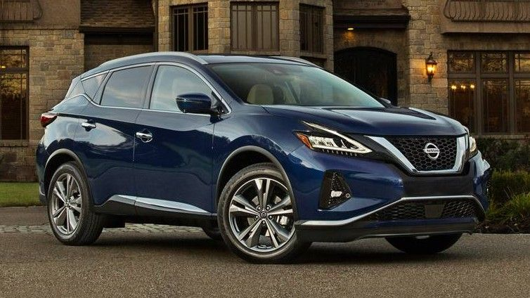 2019 Nissan Murano Front Three-quarter View