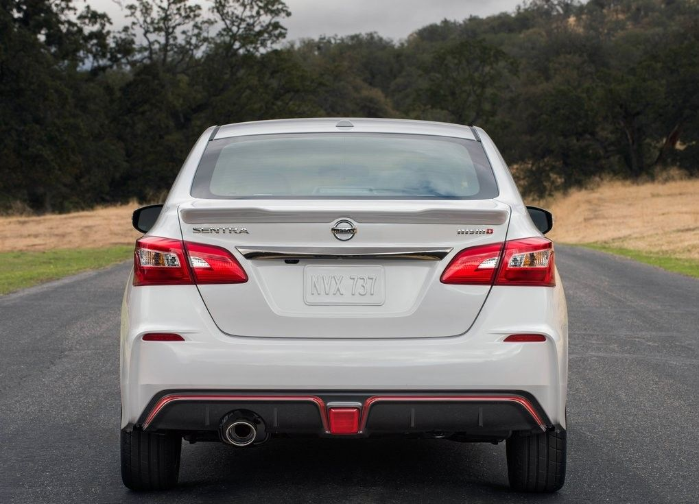 2019 Nissan Sentra Nismo Rear View