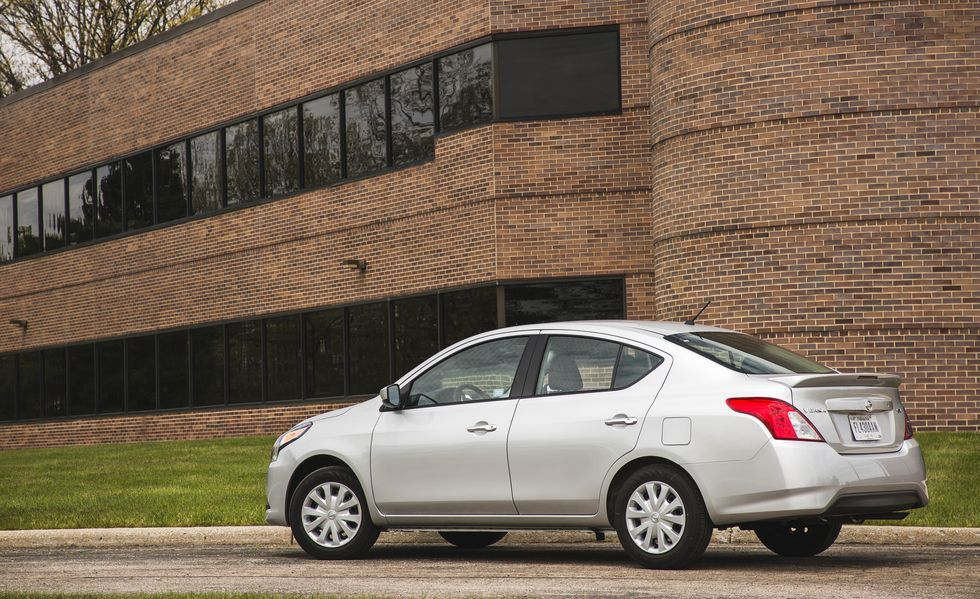 2020 Nissan Versa rear view