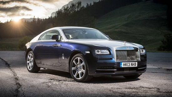 2020 Rolls-Royce Wraith Front Three-Quarter View