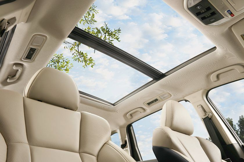 2020 Subaru Ascent sunroof