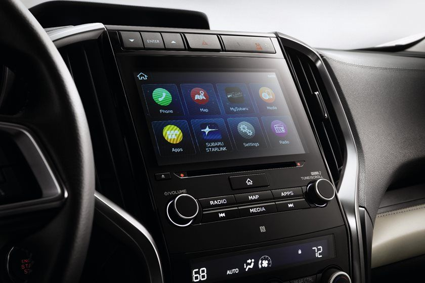 2020 Subaru Ascent infotainment display