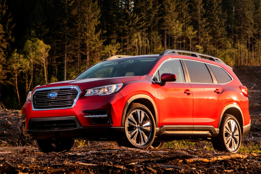 2020 Subaru Ascent Front View