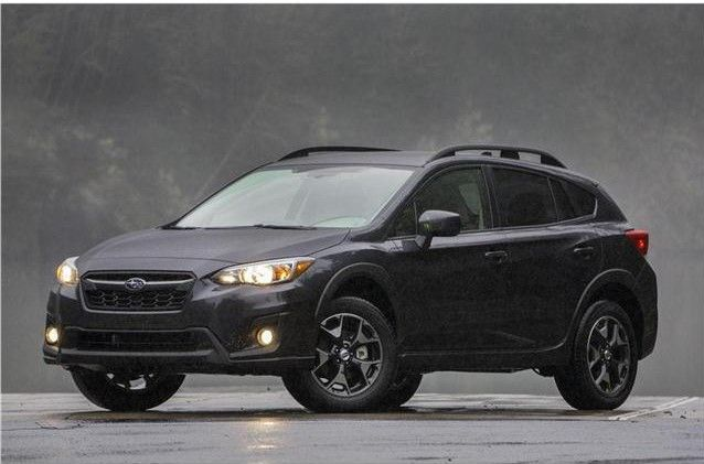 2019 Subaru Crosstrek Angular Front View