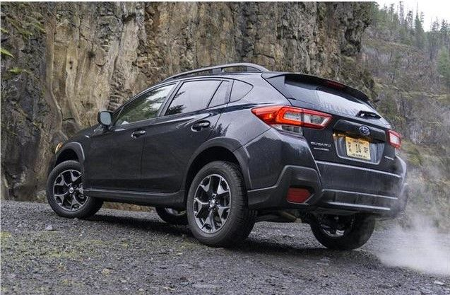 2019 Subaru Crosstrek Angular Rear View