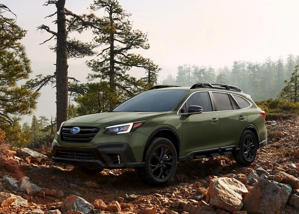 2020 Subaru Outback Angular Front View