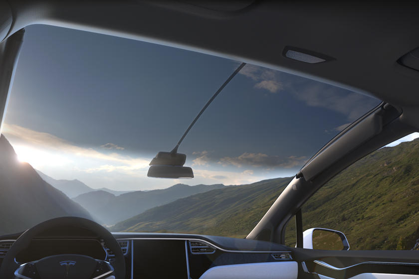 2020 Tesla Model X sunroof