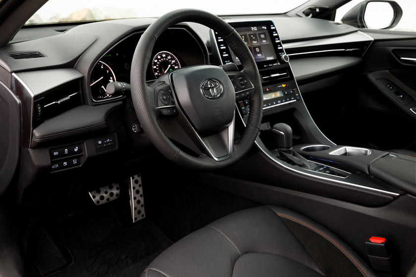 2020 Toyota Avalon angled dash view