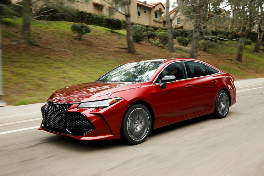 2020 Toyota Avalon moving ride quality
