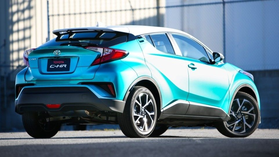 2019 Toyota C-HR Rear Three-quarter View