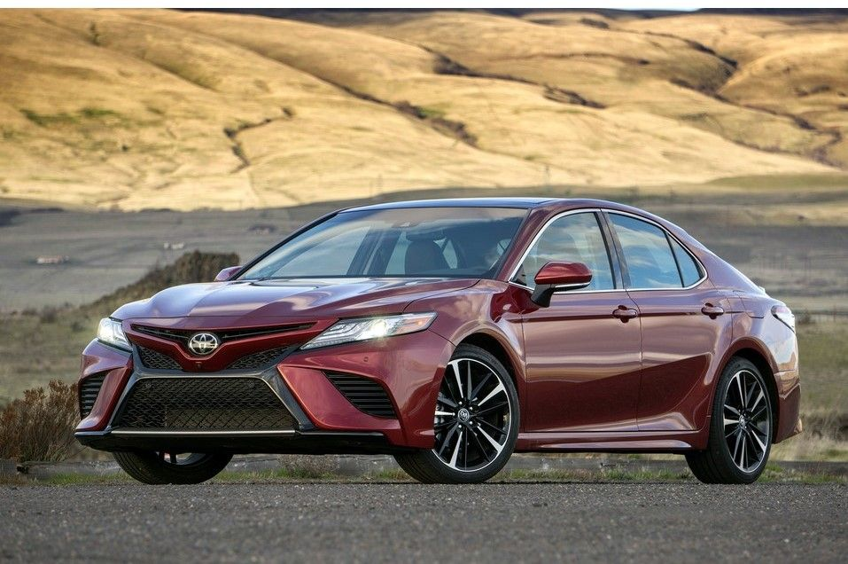 2020 Toyota Camry Angular Front View