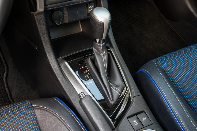 2020 Toyota Corolla Center Console