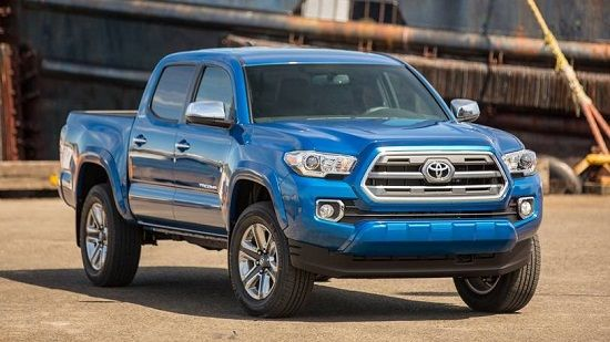 2020 Toyota Tacoma Double Cab Front Three-Quarter View