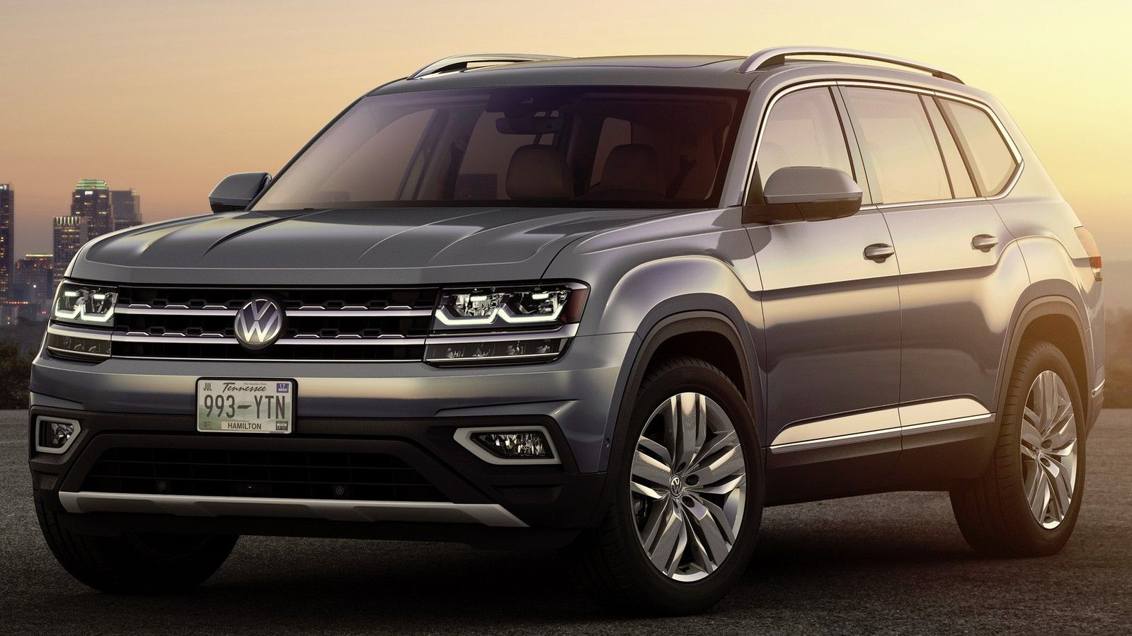 2019 Volkswagen Atlas Front Three quarter View