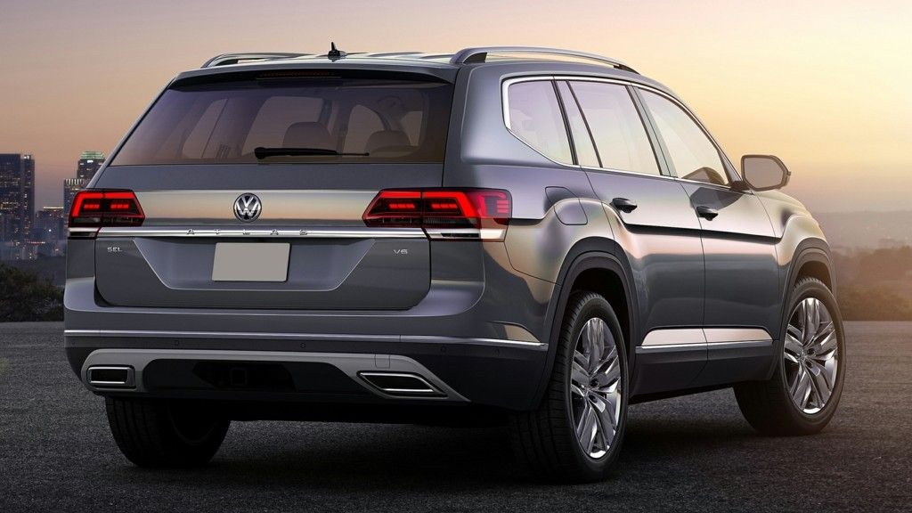 2019 Volkswagen Atlas Rear Three quarter View