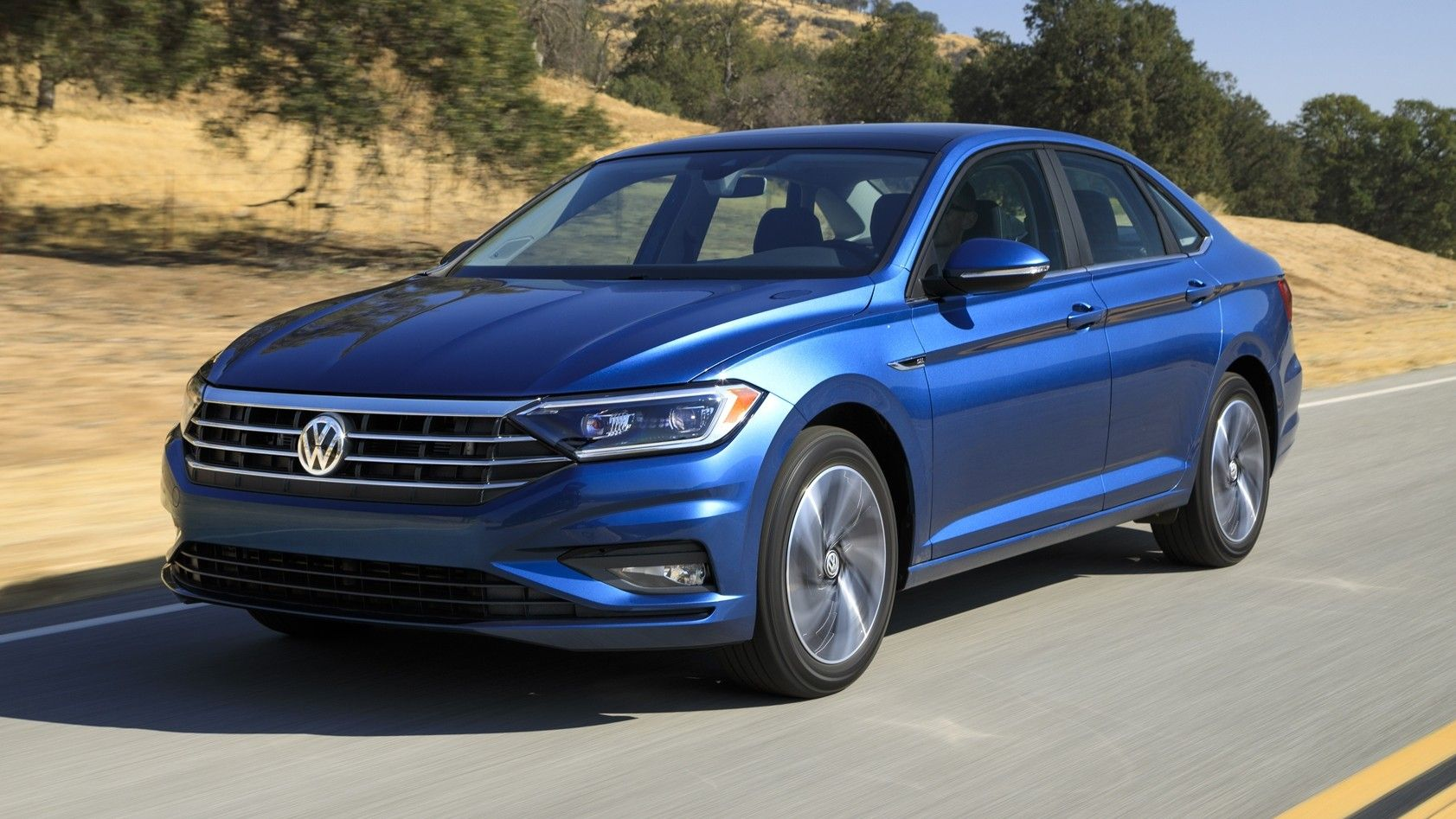 2020 Volkswagen Jetta Front Three-quarter View