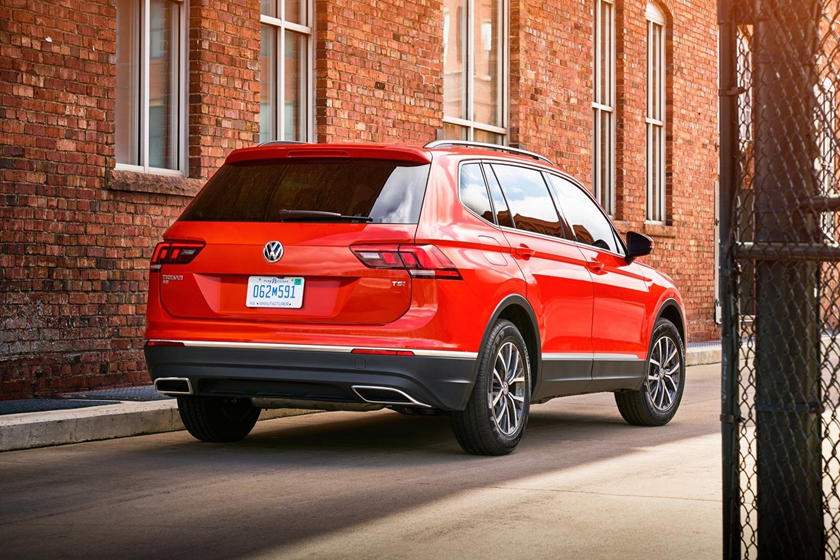 2019 Volkswagen Tiguan Rear three quarter View