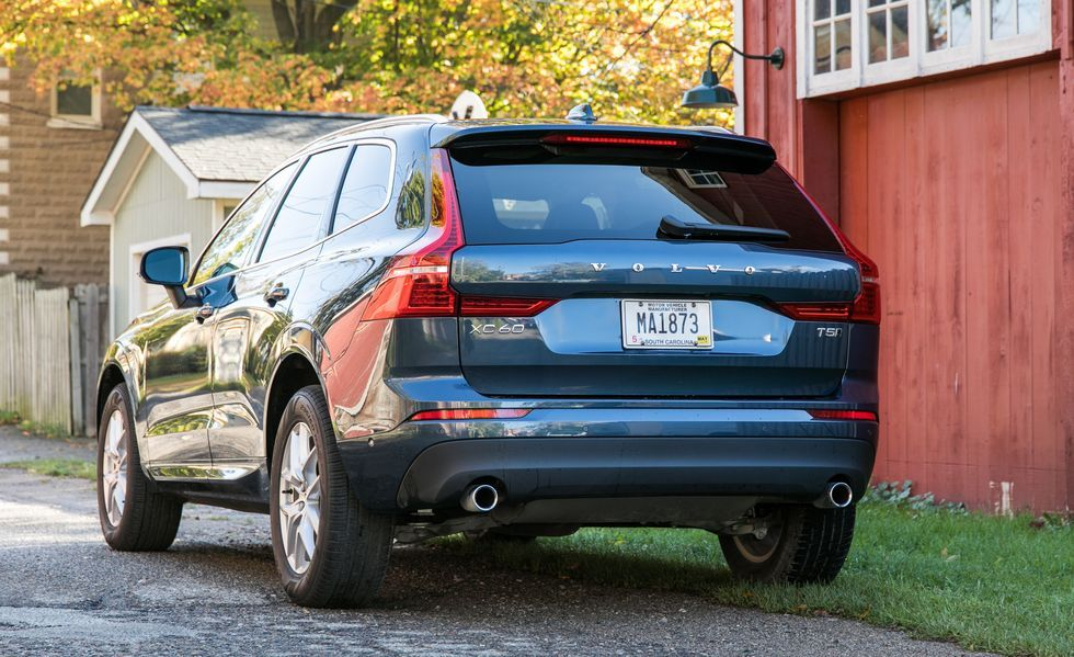 2019 Volvo XC60 Rear View
