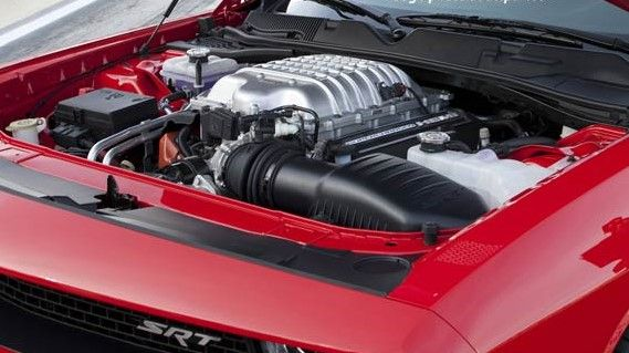 2019 Dodge Charger Hellcat Engine Bay