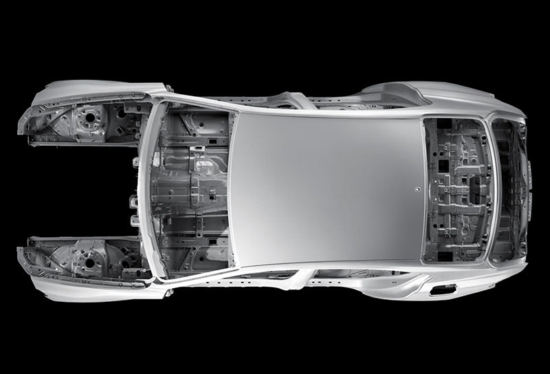2019 Genesis G70 chassis safety body structure